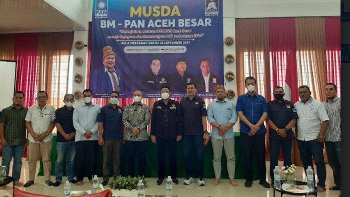 Musda BM-PAN Aceh Besar Dibuka, Teuku Hafid Minta Kader Jangan Terlalu Pragmatis