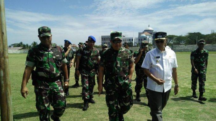 Pangdam IM Tinjau Lokasi Kunjungan Presiden Jokowi ke Bireuen, Hadiri Kenduri Kebangsaan Sabtu Nanti