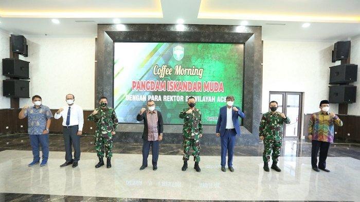 Pangdam Iskandar Muda Gelar Silaturahmi dengan Rektor Se-Aceh, Ini Pembahasannya