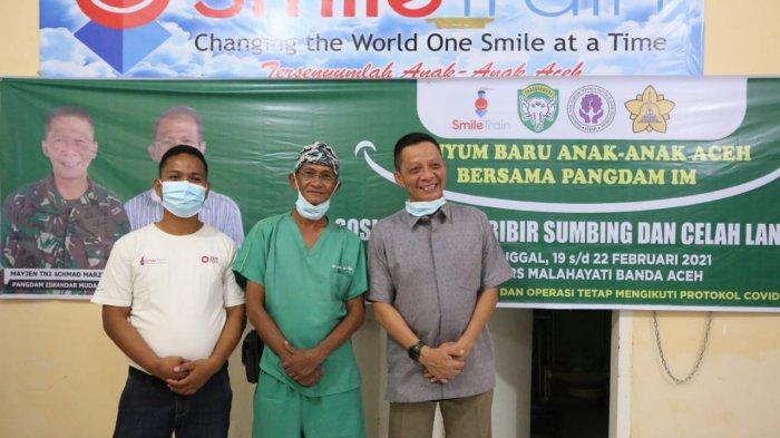 Kodam IM Operasi 33 Pasien Bibir Sumbing dari 7 Kabupaten/Kota di Aceh, Ini Penekanan Pangdam