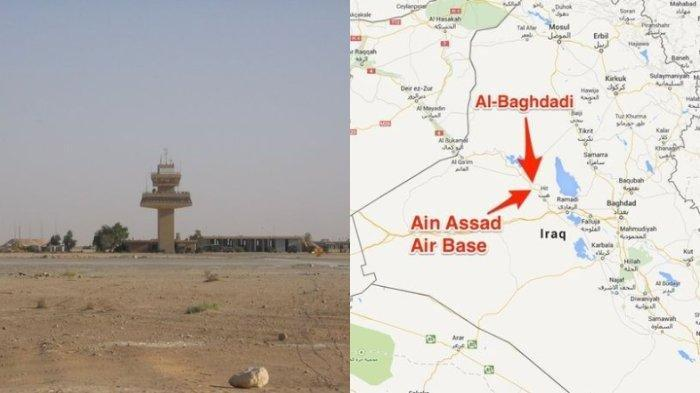 Pangkalan Militer Amerika Serikat di Irak Dihujani Roket