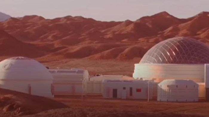China Punya Pangkalan 'Planet Mars' di Gurun Gobi, Proyek untuk Kuasai Planet Merah?