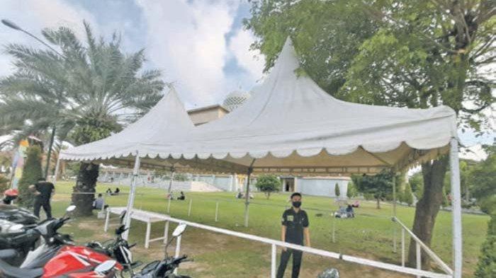 Selama Ramadhan 1442 Hijriah, Masjid Islamic Center Lhokseumawe Kembali Sediakan Kanji Rumbi Gratis