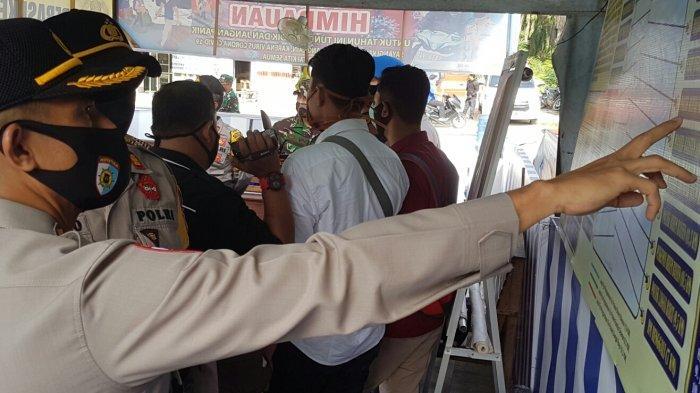 Irwasda Polda Aceh dan Forkopimda Cek Pos Pam Operasi Ketupat Rencong di Langsa