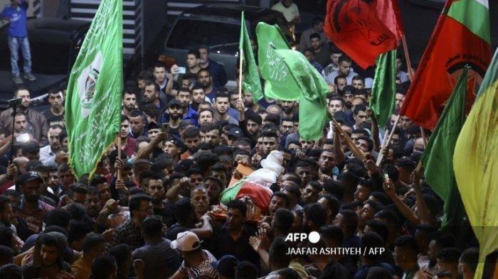 Warga Palestina Meninggal Ditembak Pasukan Israel di Tepi Barat, Zakaria HamayelKena Peluru di Dada