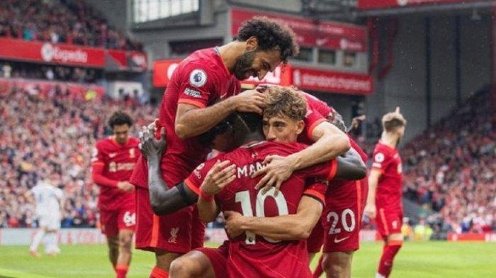Hasil dan Klasemen Liga Inggris -Manchester City Pesta Gol, Liverpool dan Brighton ke Puncak