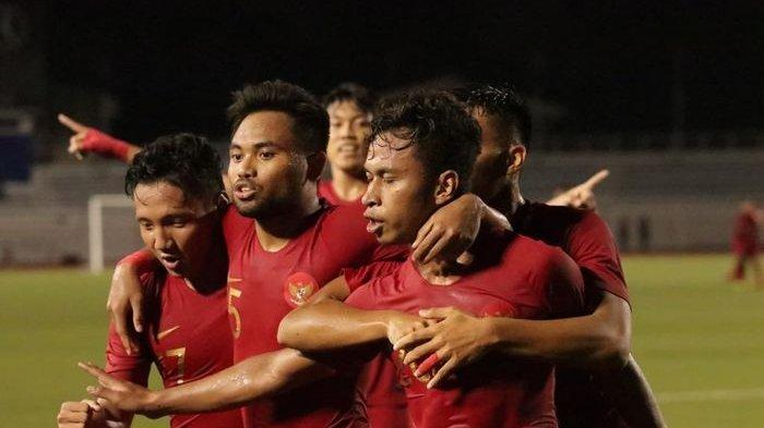 Kalahkan Singapura, Timnas Indonesia Samai Poin Vietnam di Klasemen Grup B SEA Games 2019