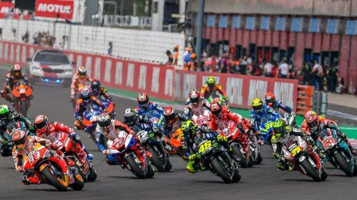 Link Live Streaming MotoGP Catalunya, Marquez Dikepung Empat Pembalap Yamaha