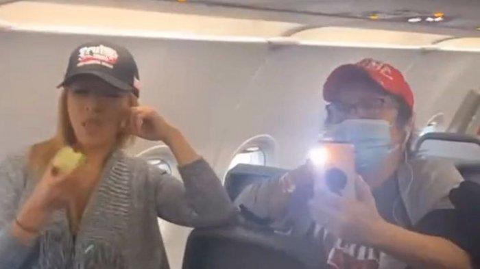 Seluruh Penumpang Pesawat Dipaksa Turun Lagi, Gegara Dua Wanita Tolak Pakai Masker
