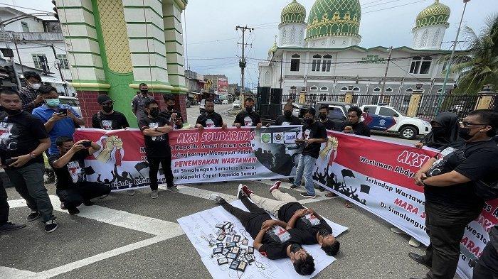 Pembunuh Wartawan Terungkap, PWI Abdya Apresiasi Poldasudan Minta Pelaku Dihukum Berat