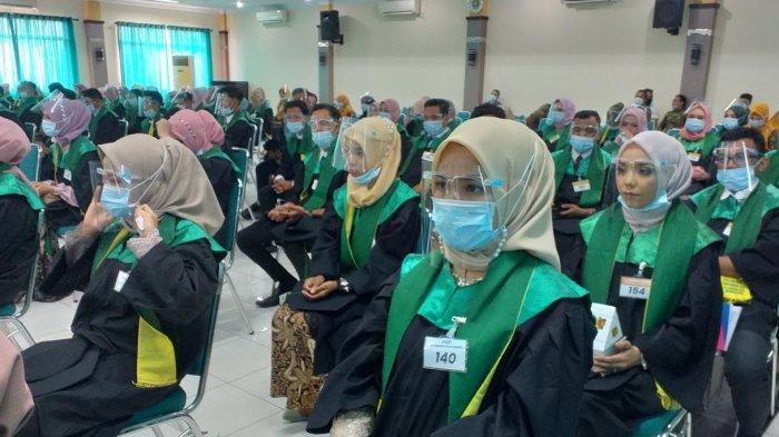 Umuslim Wisuda 229 Lulusan, Berlangsung dengan Protokol Kesehatan