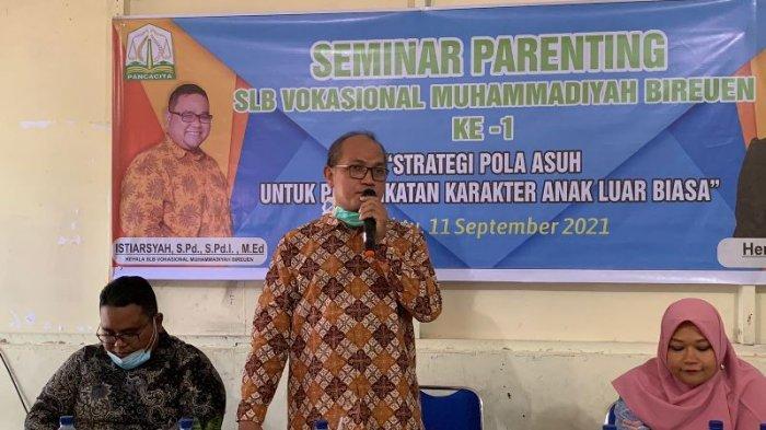 SLB Vokasional Muhammadiyah Gelar Parenting, Ini Pesan untuk Orang Tua Anak Berkebutuhan Khusus