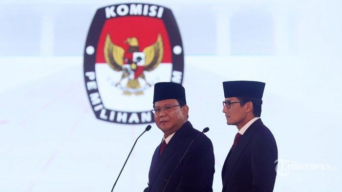 Gugatan soal Pilpres 2019 Dikabulkan MA, Akankah Menguntungkan Prabowo-Sandi?