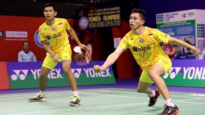 Hasil Indonesia Open 2019, Fajar/Rian Melaju ke Babak Kedua Usai Kalahkan Pasangan China