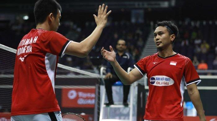 Hasil Semifinal Singapore Open 2019 - Dua Wakil Indonesia Tembus Final