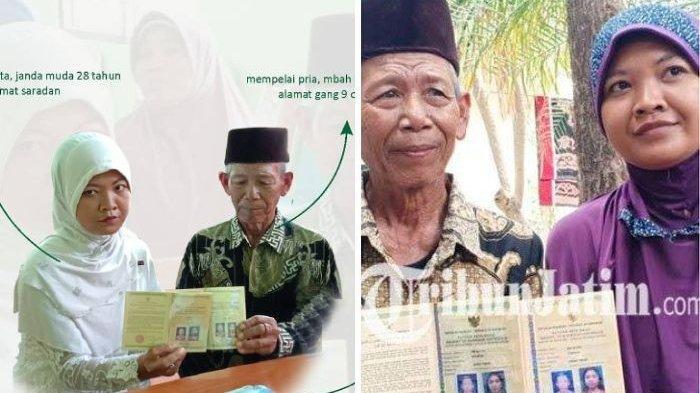 Kakek 70 tahun Nikahi Janda Muda dengan Mahar Rp 50.000, Cinta Berawal dari Minta Air Putih di Kebun