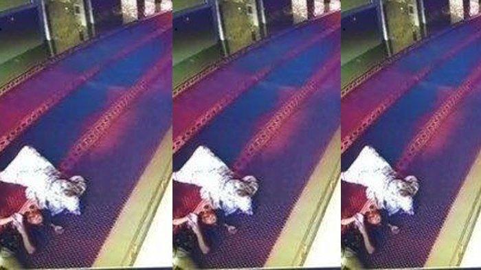 VIRAL Sepasang Kekasih Bobol Kotak Amal Masjid dan Sempat Berbuat Zina, Aksi Pelaku Terekam CCTV
