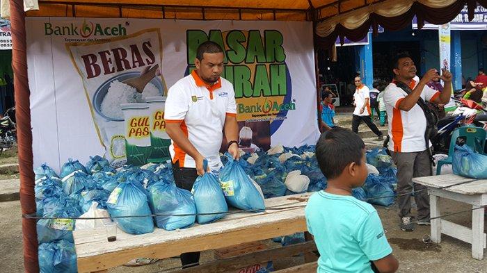 Ini Tempat dan Jenis Sembako yang Dijual Pada Pasar Murah di Pidie Jaya Menyambut Ramadhan