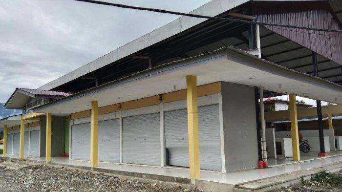 Pasar Rakyat Terutung Payung Aceh Tenggara Terbengkalai, Begini Kondisinya, Ini Kata Kadisperinker