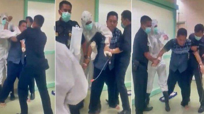 VIRAL Pasien Covid-19 Mengamuk di RSUD Pasar Minggu, Robek APD Dokter hingga Satpam Tertular Corona