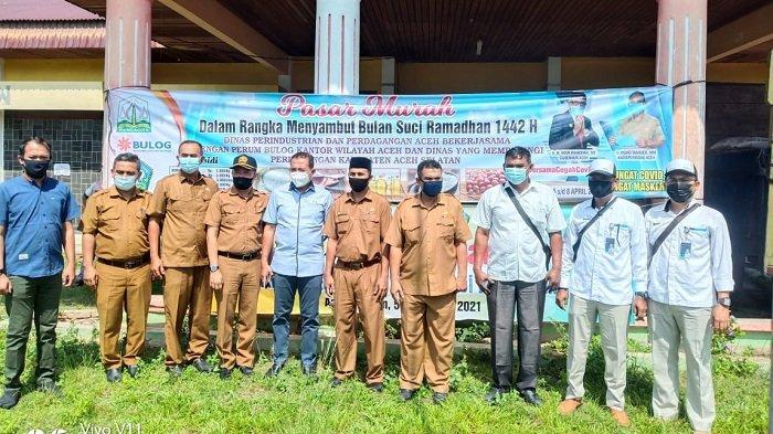 Sambut Ramadhan, Ini Barang yang bisa Dibeli Murah di Pasar Murah Disperindagkop & UKM Aceh Selatan