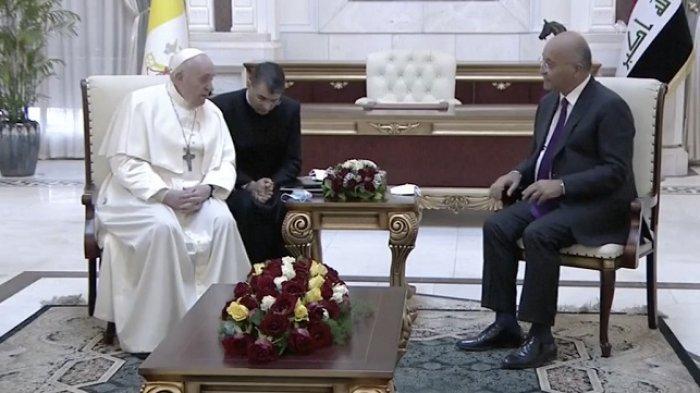Paus Fransiskus Kunjungi Irak, Ribuan Pasukan Keamanan dan Tentara AS Dikerahkan ke Seluruh Negeri