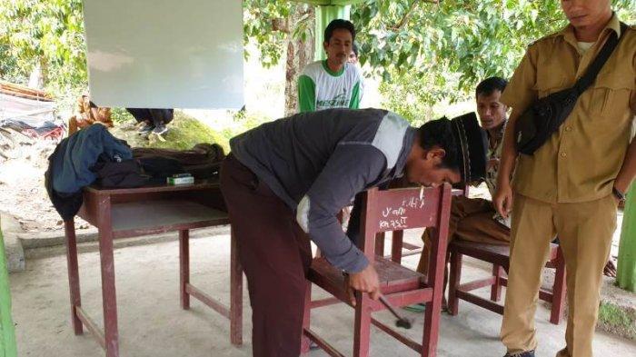 Proses Belajar Mengajar di SDN Pepelah Gayo Lues Dipindah ke Meunasah,Dampak Longsor & Tanah Retak