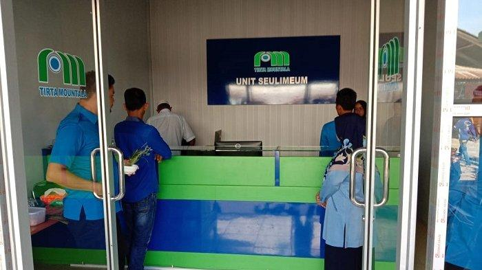 PDAM Tirta Mountala Resmikan Loket Baru di Pasar Seulimeum