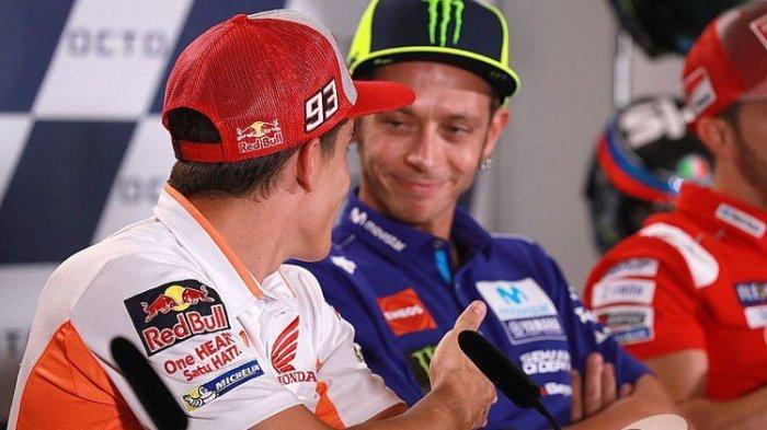 Saat Marc Marquez Selamatkan Muka Honda di MotoGP, Rossi Justru Mengamuk Ditanya Soal Masa Depan