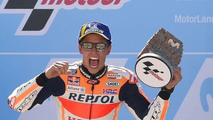 Update Terkini Klasemen MotoGP dan Peluang Marc Marquez Jadi Juara Dunia 2019 di MotoGP Thailand