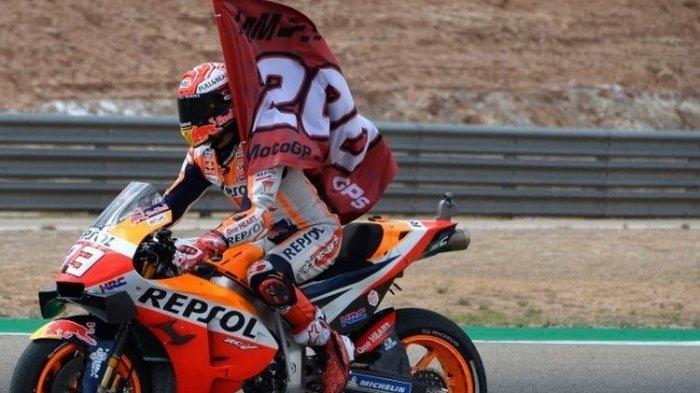 Hasil FP3 MotoGP Portugal 2021 - Marc Marquez dan Valentino Rossi Bernasib Apes