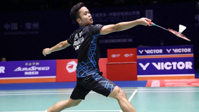 Hasil Final China Open 2018 - Anthony Ginting Sukses Meraih Juara, Taklukkan Kento Momota