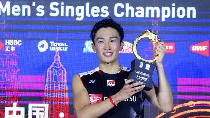 Kento Momota Positif Covid-19, Seluruh Pebulutangkis Jepang Tarik Diri dari Thailand Open 2021