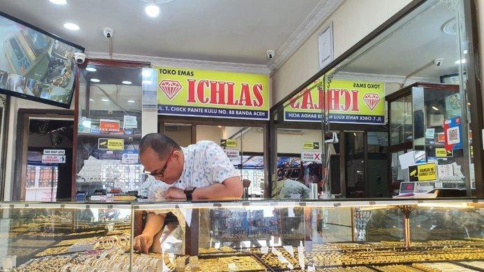Harga Emas di Banda Aceh Masih Stabil, Penjualan Turun Drastis