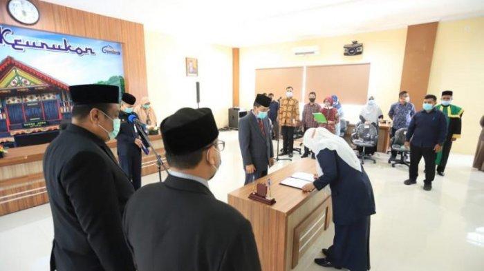 Sekda Lantik 7 Pejabat Baru di Lingkungan PemkoBanda Aceh, Berikut Nama-namanya