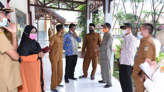 Banda Aceh Zona Merah Pimpinan Dan Anggota Dprk Tinjau Sekolah Farid Minta Kembali Belajar Daring Serambi Indonesia