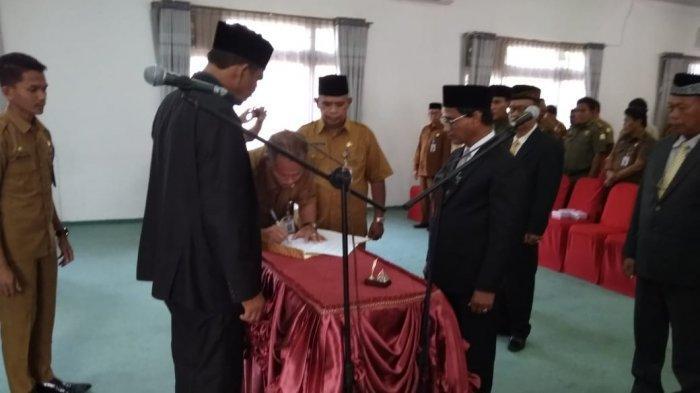 Wabup Aceh Timur Lantik Empat Pejabat Eselon II, Ini Nama-namanya