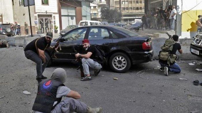 Bentrokan saat Demo di Lebanon, Baku Tembak Tewaskan 6 Orang dan Lukai 30 Lainnya
