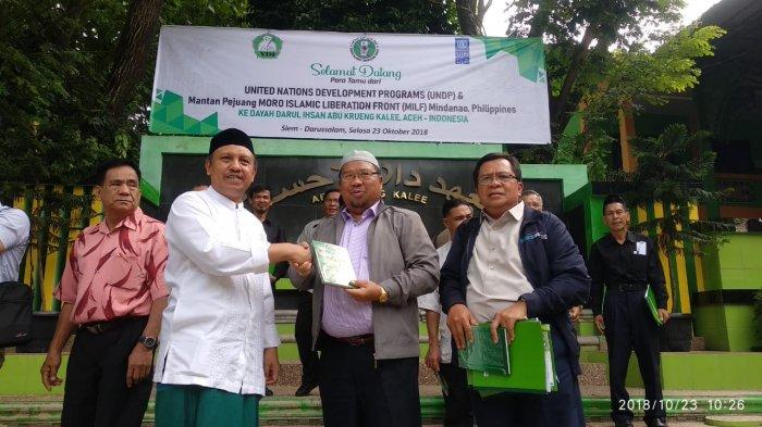Mantan Pejuang MILF Filipina Studi Banding ke Darul Ihsan