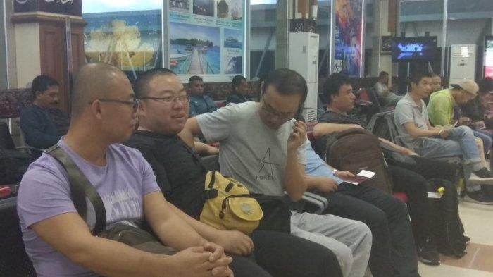 51 TKA Asal China yang Diamankan di Pabrik Semen Lhoknga Sudah Diterbangkan ke Jakarta