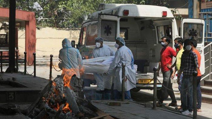 Varian Baru Jadi Pemicu Corona Mengamuk di India: Rumah Sakit Kewalahan, Krematorium Berkerja 24 Jam