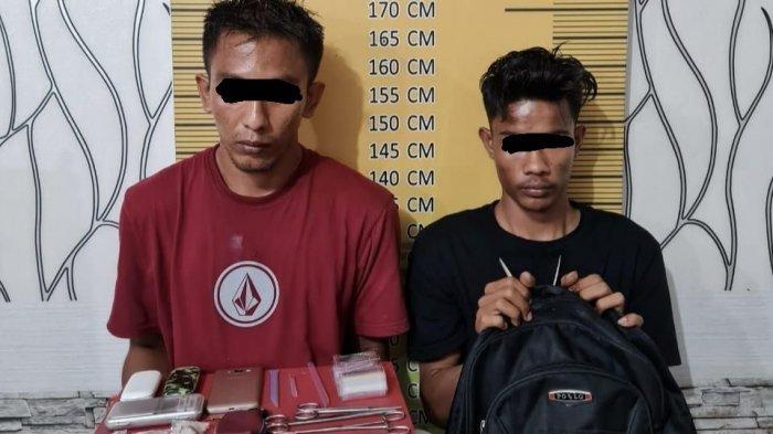 Jual Sabu, Dua Warga Langsa Dibekuk Polisi, Satu Diantaranya Masih Pelajar