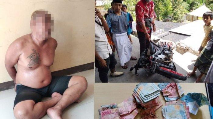 Seorang Jambret Nyaris Dipukul Warga, Korban Kejar dan Dorong Pelaku hingga Terjatuh