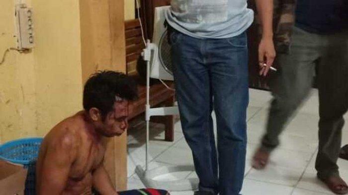 Seorang Ayah Berdarah Dihajar Warga, Pelaku Berulang Kali Cabuli Putri Kandungnya