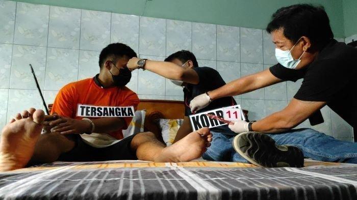 Pembunuhan Pria di Medan, Pelaku Tikam Korban Saat Tidur, Emosi Tak Dibayar Usai Berhubungan