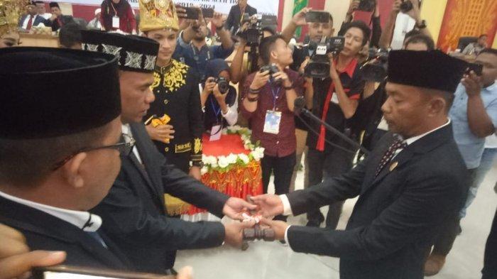 Anggota DPRK Aceh Timur Resmi Dilantik, Fattah Fikri Jadi Ketua Sementara