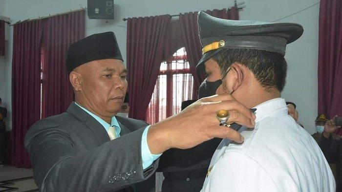 Wabup Dailami Lantik Pejabat Administrator, Pengawas, Fungsional Tertentu
