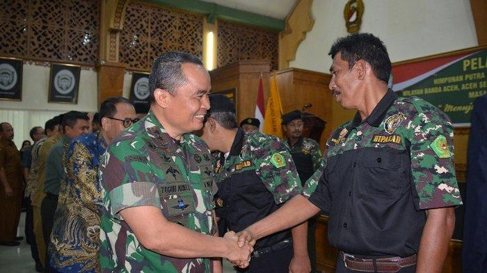 Lima DPC Hipakad Kabupaten/Kota di Aceh Dilantik, Ini Pesan Pangdam IM
