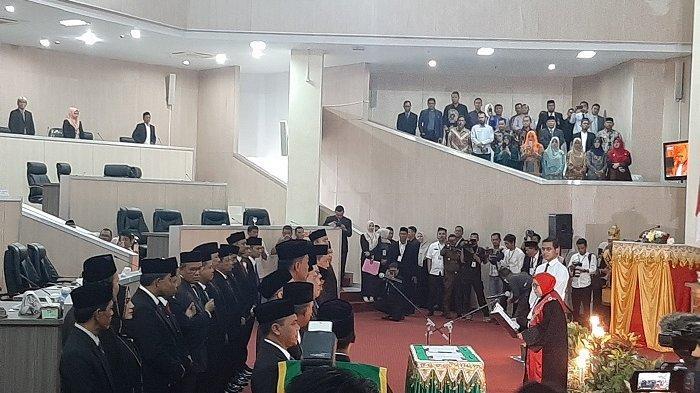 Sah, 30 Caleg Terpilih Resmi Jadi Anggota DPRK Banda Aceh
