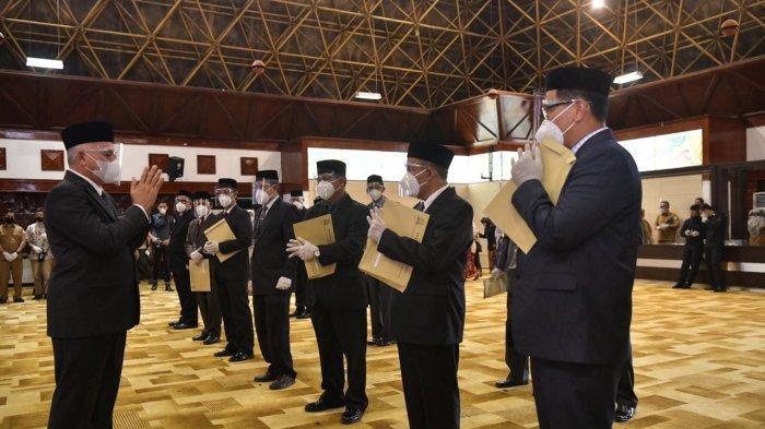 Ini 16 Pejabat Eselon II Pemerintah Aceh yang Dilantik oleh Sekda Serta Harapan Gubernur